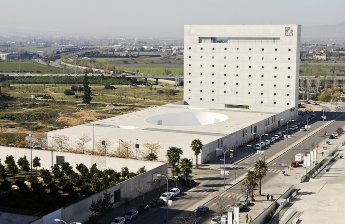 Museo memoria de andalucia en granada caja granada - Caja de arquitectos granada ...