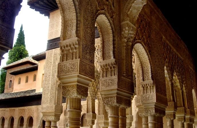 Capiteles Nazaries Alhambra Granada