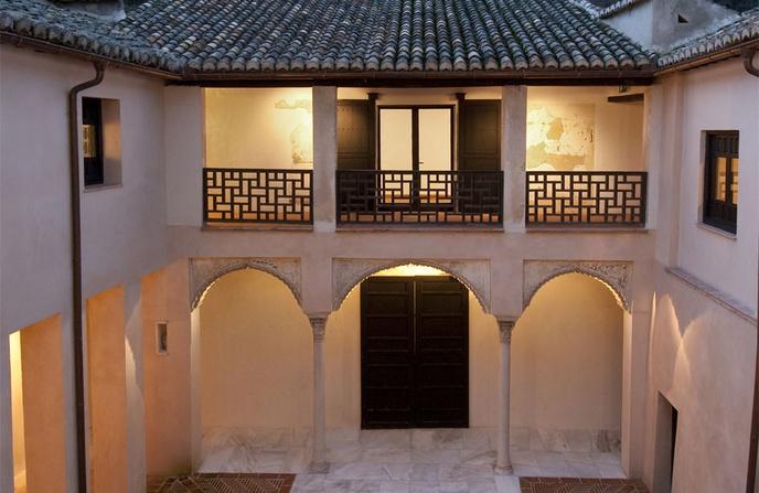La casa de zafra muestra la arquitectura rabe pura for La casa de granada en madrid